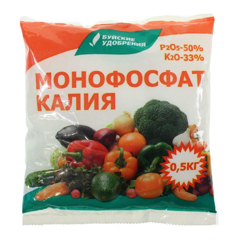 Монофосфат калия — водорастворимое концентрированное фосфорно-калийное удобрение