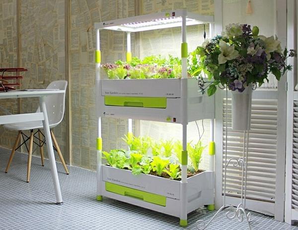 искусственное освещение при выращивании салата